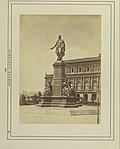 Budapest, Széchenyi István (Ferenc József) tér, Széchenyi István szobra (Engel József, 1880.). - Fortepan 82264.jpg
