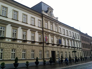Constitutional Court of Slovakia - Building of the Constitutional Court of Slovakia in Košice
