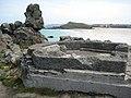 Building remains near Porthmeor Beach - geograph.org.uk - 1841567.jpg