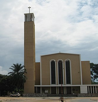 Christianity in Burundi - Regina Mundi Cathedral, a Roman Catholic Cathedral in Bujumbura
