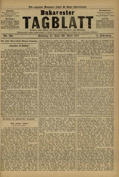File:Bukarester Tagblatt 1882-06-11, nr. 126.pdf