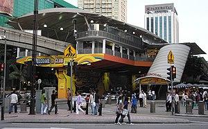 Bukit Bintang Station Kuala Lumpur Monorail