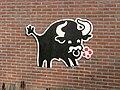 Bull painting Nagele.JPG
