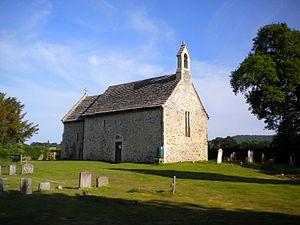 Wiston, West Sussex - All Saints Chapel at Buncton