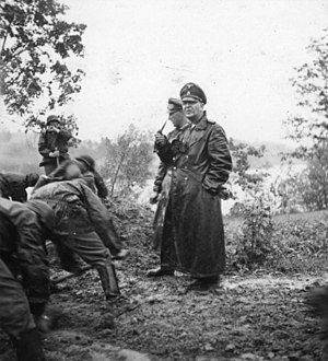 Theodor Eicke - Eicke and the SS Division Totenkopf in the Soviet Union in 1941.