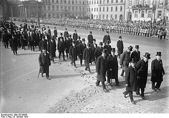 Gustav Stresemann - Stresemann's funeral