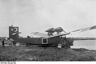 Rohrbach Ro III - A Rodra in Turkish Naval markings, November 1930