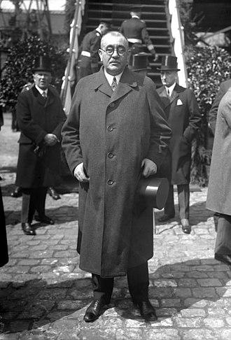 Gustav Noske - Gustav Noske in 1933.
