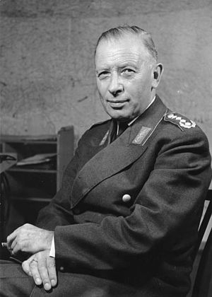 Inspector General of the Bundeswehr - Image: Bundesarchiv Bild 146 2005 0030, Adolf Heusinger