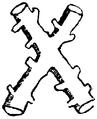 Burgundiskt kors, Nordisk familjebok.png