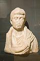 Bust of woman dressed, Augustean Period, marble. Prague, NM-H10 4796, 151163.jpg