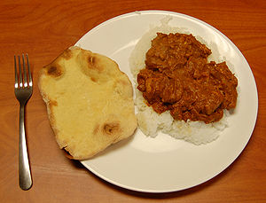 Butter Chicken with Naan.JPG