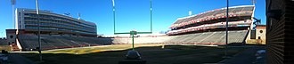 Maryland Stadium - Byrd Stadium Pano