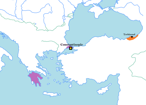 Byzantine Empire 1435 AD