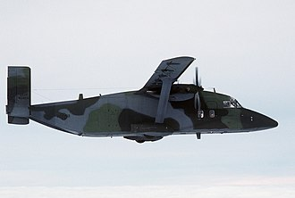 Short C-23 Sherpa - A USAF C-23A Sherpa over then West Germany in 1985