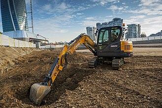 Case Construction Equipment - CASE CX37C mini excavator.