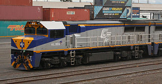 Avteq - Chicago Freight Car Leasing Australia VL class locomotive at North Dynon in June 2008