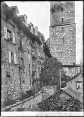 CH-NB - Aarau, Stadtmauer, vue partielle - Collection Max van Berchem - EAD-7059.tif