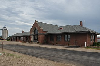 National Register of Historic Places listings in Spink County, South Dakota - Image: CHICAGO AND NORTHWESTERN DEPOT; SPINK COUNTY, SD