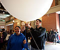 COD Meteorology Department Launches Weather Balloon 2015 25 (17302788311).jpg