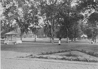 Alun-alun - The alun-alun in Batusangkar, Indonesia, 1938