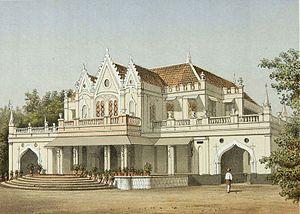 Cikini Hospital - Image: COLLECTIE TROPENMUSEUM Het huis van Raden Saleh in Menteng T Mnr 3728 810