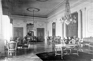 Merdeka Palace - Interior of the Palace in 1936