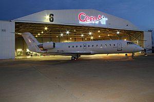 CemAir - Image: CRJ Hangar 6