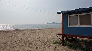 Muuido - Cabana at Hanagae Beach, Muuido
