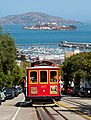 Cable Car No. 25 and Alcatraz Island.jpg