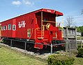 Caboose, Stanford Railroad Depot, 6.jpg