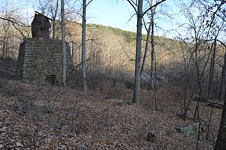 Callie Furnace place in Virginia listed on National Register of Historic Places