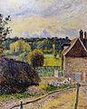 Camille Pissarro - La Maison de la folie à Eragny (1885).jpg