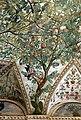 Camillo mantovano, volta della sala a fogliami di palazzo grimani, 1560-65 ca. 03 melagrano.jpg