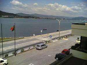 Caminha - Caminha and the Minho river