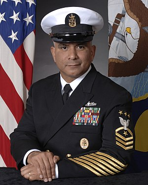 Excelsior College - Alumnus Joe R. Campa, 11th Master Chief Petty Officer of the Navy