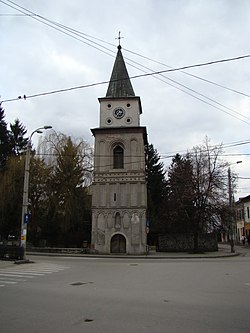 A clock tower