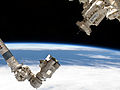 Canadarm2 approaching grapple fixture.jpg