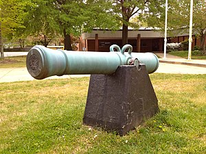 Fort Hunt High School - Image: Cannon in front of Fort Hunt High School, Alexandria, VA, USA