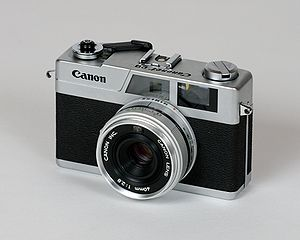 Canonet - New Canonet 28 from 1971