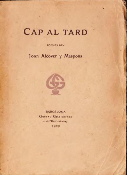 File:Cap al tard (1909).djvu