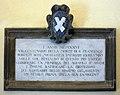 Cappella della madonna dello spasimo, 03 lapide.jpg