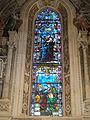 Cappella di filippo strozzi, vetrata 01.JPG