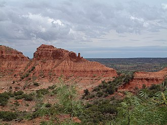 Texas Panhandle - Caprock Canyons of Briscoe County.
