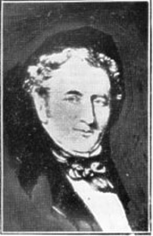 SS Mona's Isle (1830) - Capt. William Gill, the first Captain of the line.