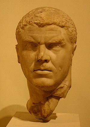 Bust of Caracalla, Met, New York City