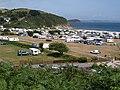 Caravan and camping park, Pentewan - geograph.org.uk - 1389545.jpg