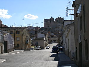 Miralcamp - Center of the village