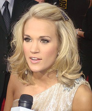 Carrie Underwood - Underwood at the 2009 American Music Awards