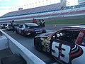 Cars lining up at Las Vegas motor speedway (34581218640).jpg